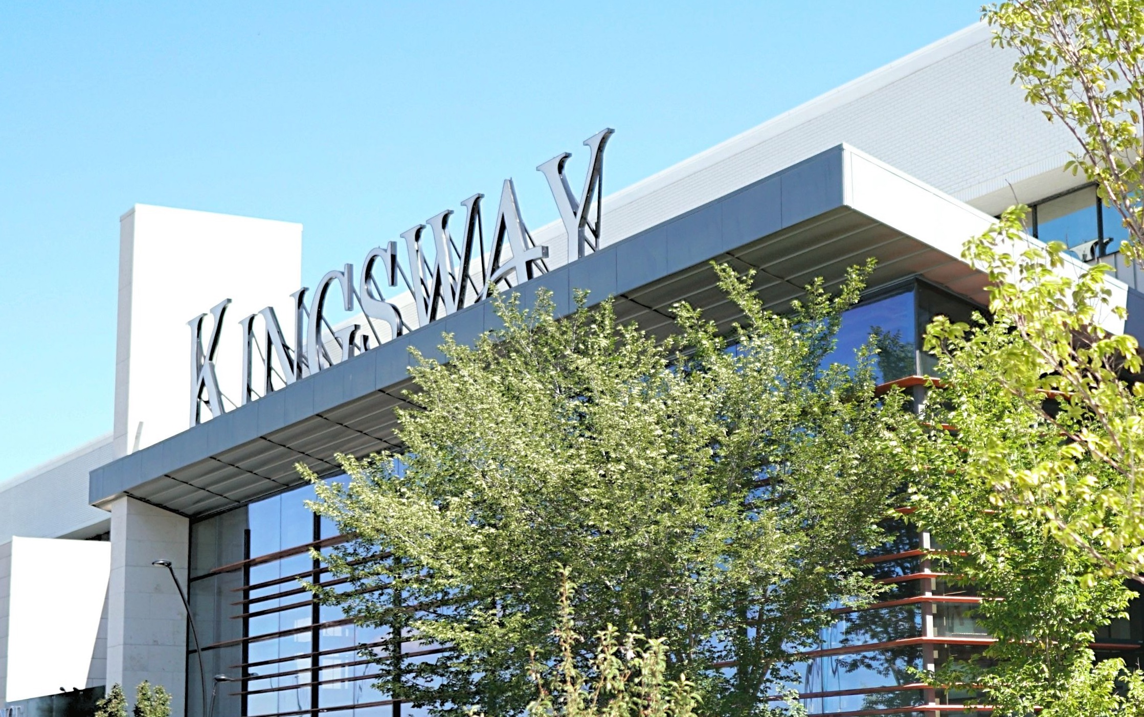 Kingsway exterior entrance
