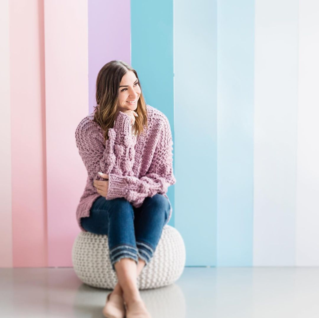 Salt water boutique girl in sweater