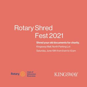 Rotary Shred Fest 2021 event