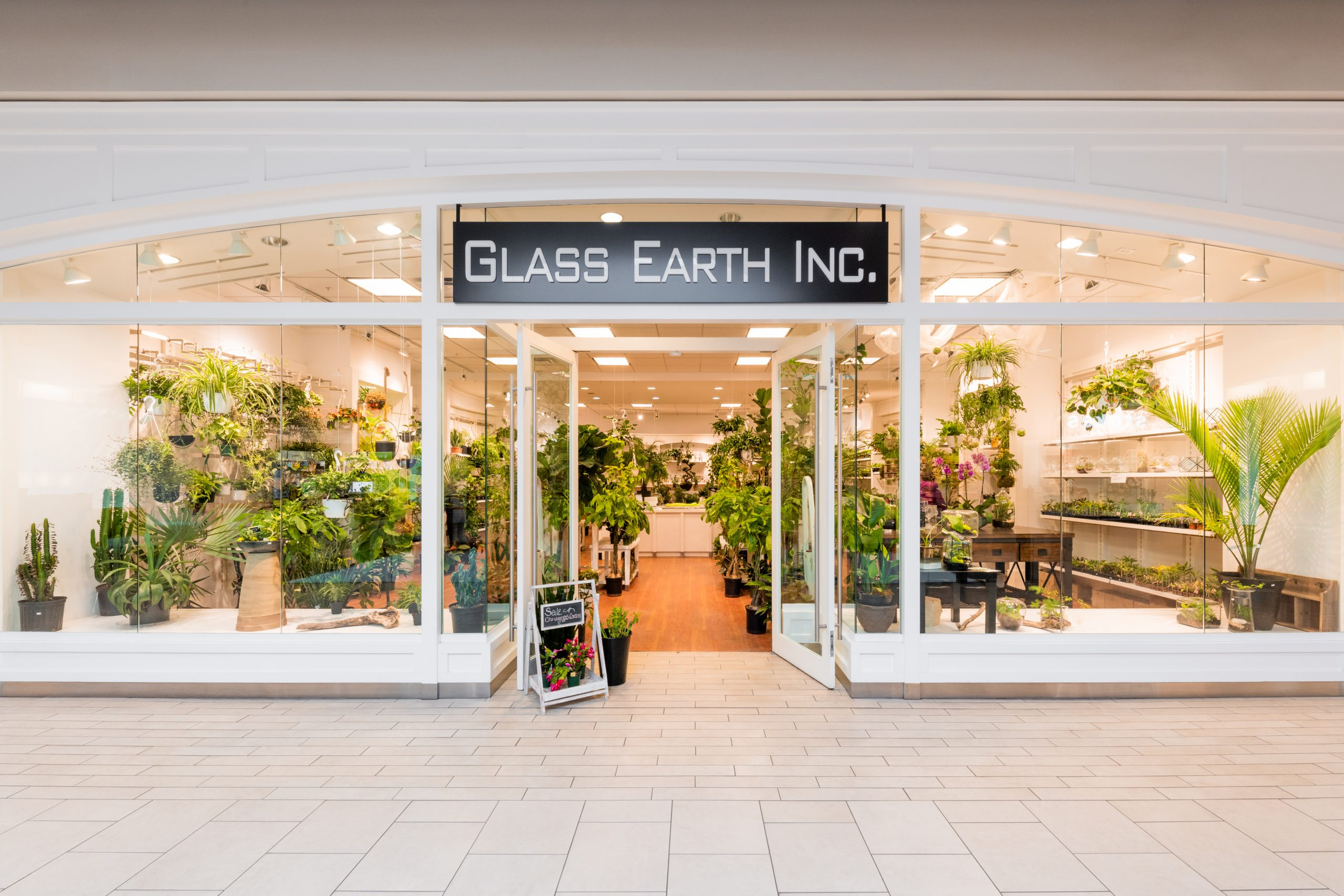 Outside view of Glass Earth Inc.