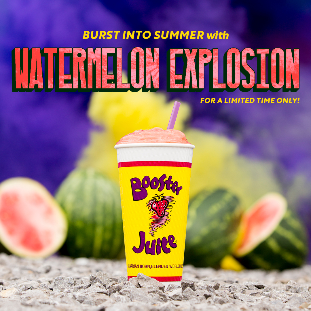 Watermelon Explosion from Booster Juice