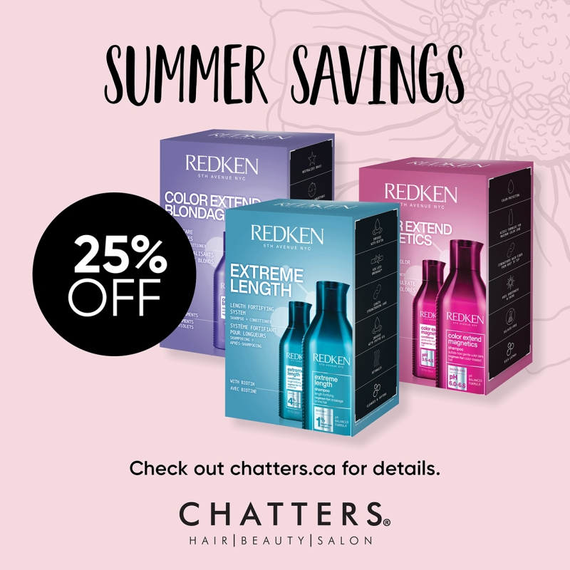 Summer Savings event with Chatters