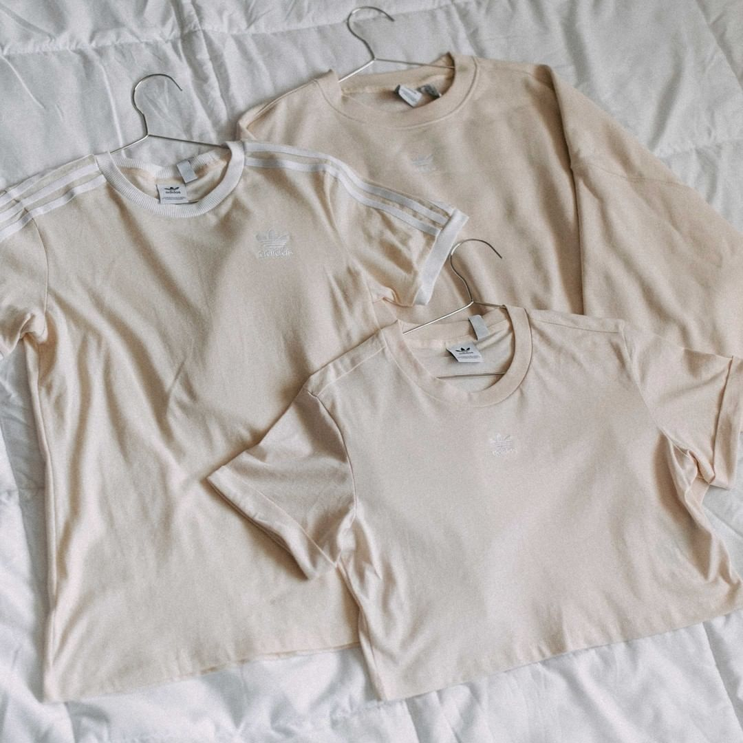 3 shirts in hangers