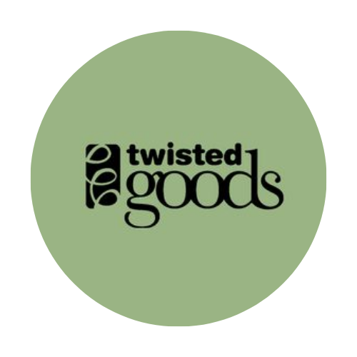 Twisted Goods (Now Open) logo
